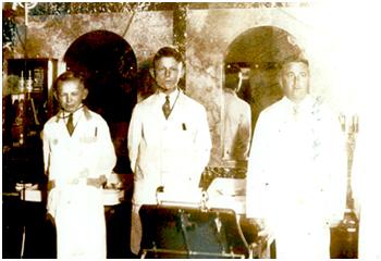 Wir haben 5 Sternev.r. Valentin Ciesielski, Arno Ciesielski & Lehrling